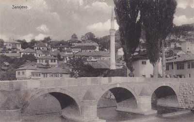 Sarajevo. Šeher-Ćehajina ćuprija