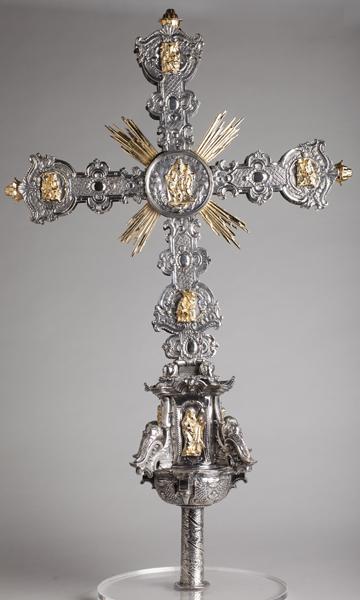 ref: PM_098527_E_Pastrana; Cruz procesional