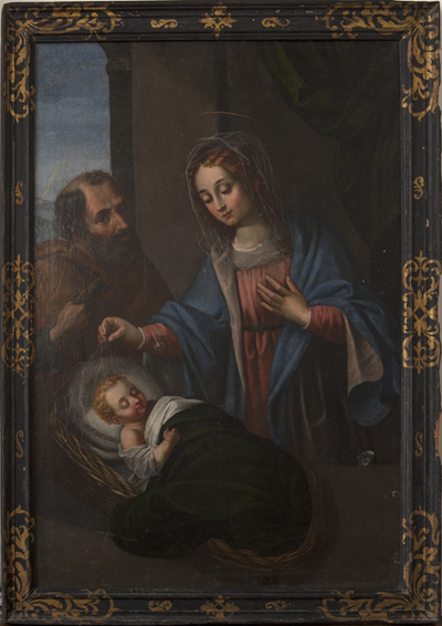 Sagrada Familia. Óleo. S. XVII-XVIII