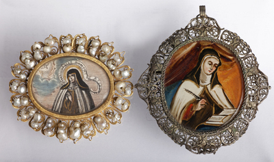 ref: PM_098568_E_Pastrana; Medallones de Sta. Teresa