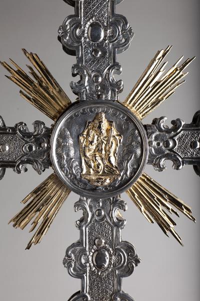 ref: PM_098531_E_Pastrana; Cruz procesional, detalle