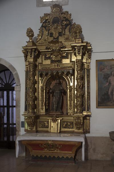 Retablo de S. Francisco de Asís.