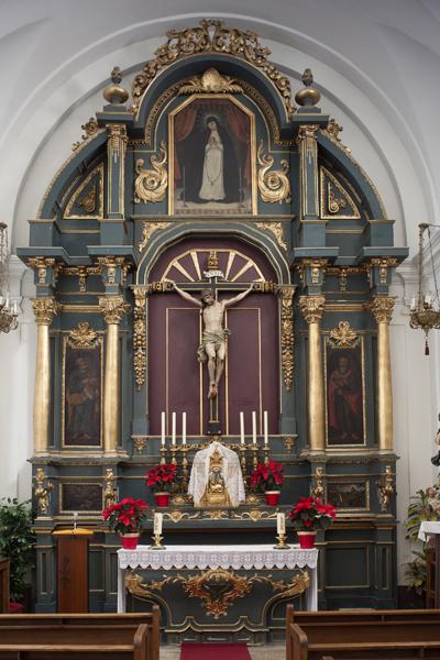 Retablo del Stamo. Cristo de los Milagros. S. XVIII