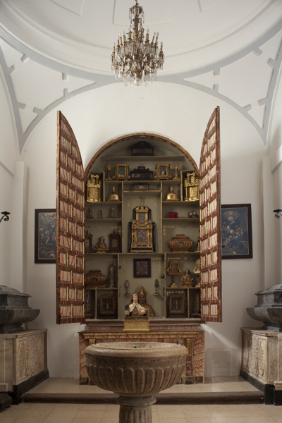 Capilla del Baptisterio y de las Reliquias de la Colegiata de Pastrana