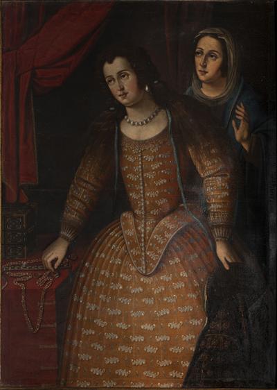 Retrato d de Ana de Silva y Mendoza