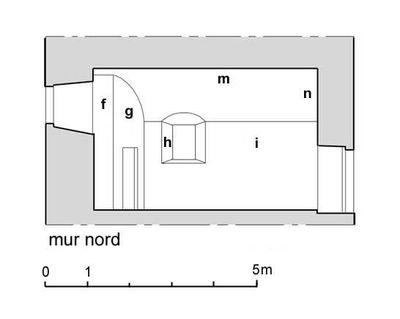 Paroi nord (dessin)