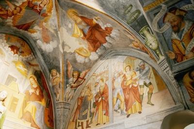 Voûte abside nord, côté sud