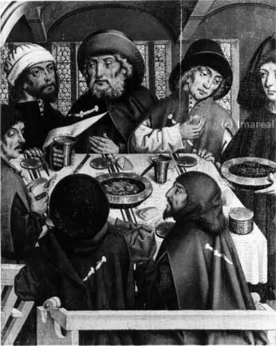 Speisung der Pilger