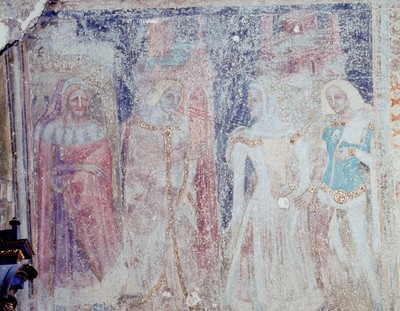 Hl. Maria Magdalena erscheint dem Fürstenpaar im Traum