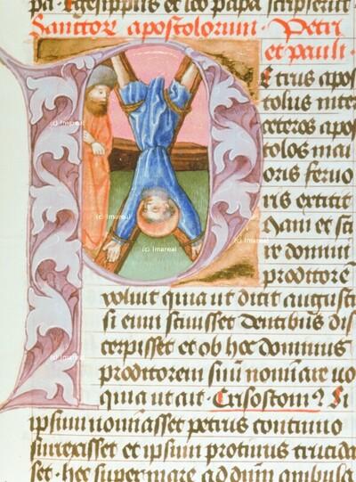 Kreuzigung des Hl. Petrus