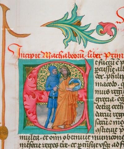 Alexander der Große tötet seinen Vater Philippus