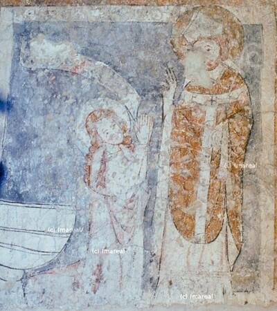 Hl. Nikolaus und weibliche Heilige