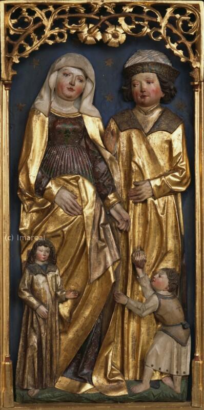 Hl. Maria Salome mit ihren Kindern