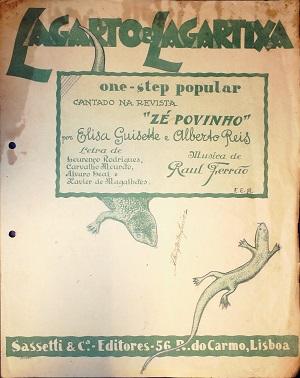 Lagarto e Lagartixa: One - Step Popular cantado na revista Zé Povinho