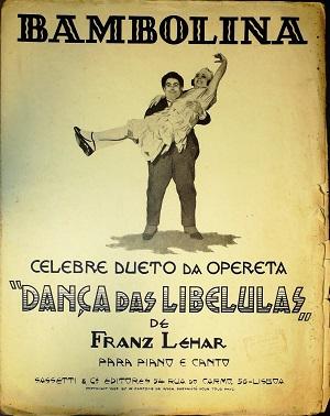 Bambolina: Dueto da opereta Dança das Libelulas