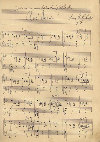 Avé Maria: Op. 16