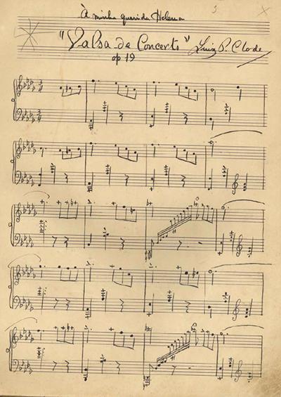 Valsa de Concerto: Op. 19