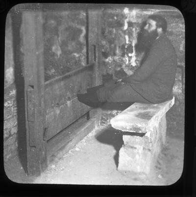 Man in Stocks, Christchurch Cathedral, Dublin, Ireland