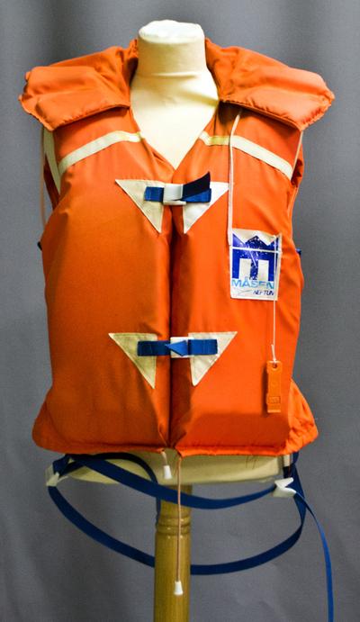 Räddningsväst från 1970-talet