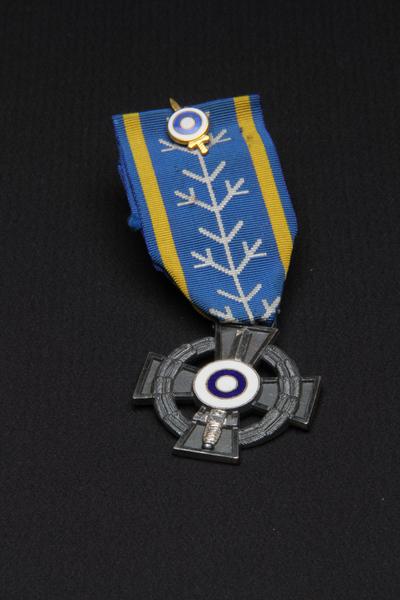 Paul Sjöströms minnesmedalj/Förtjänsttecken för medverkan i finska kriget