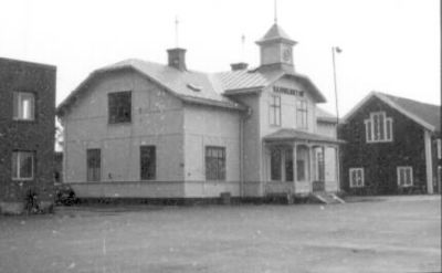 Hamnkontoret i Nyköpings hamn 1979