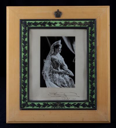 Fotografi, kejsarinnan Alexandra av Ryssland, fotograferat år 1908