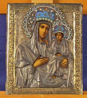 Ikon, Maria med barnet, 1800-talets andra hälft