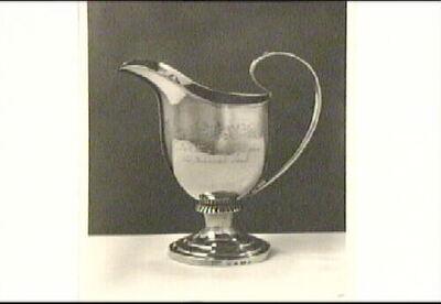Belöningssilver, gräddkanna från 1833