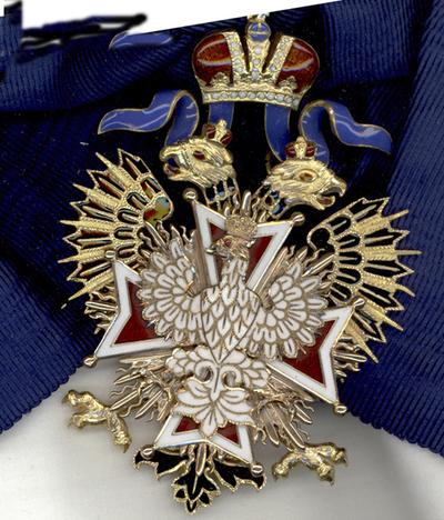 Medalj, ryska Vita Örnen