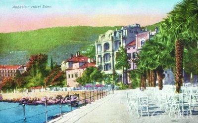 Abbazia : Hotel Eden
