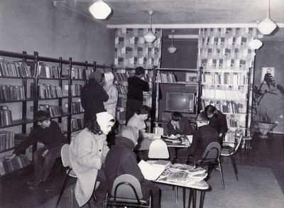 Korisnici u Dječjoj knjižnici Beli Kamik
