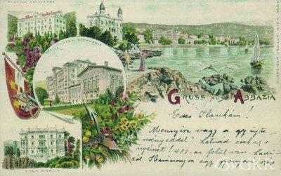 Gruss aus Abbazia