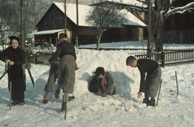 Liestal, Mühlematt, 3c, Schneehütte