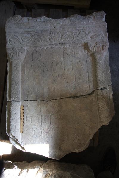 epitaph of Pompeia Secunda