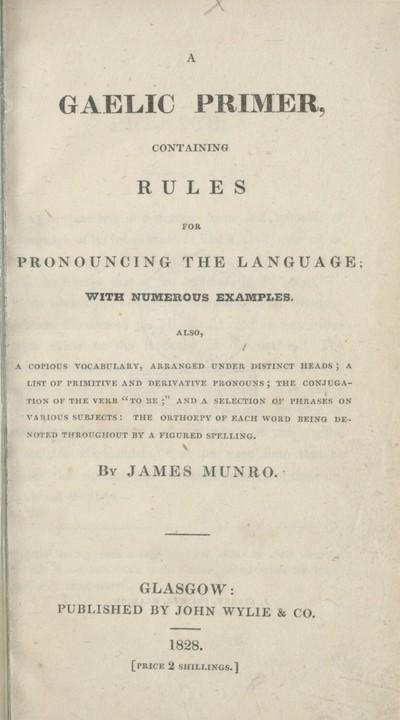 Gaelic primer
