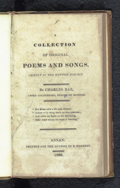Collection of original poems and songs