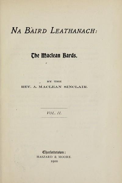 Na baird leathanach