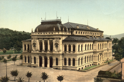 National Gallery of Slovenia 1910 postcard