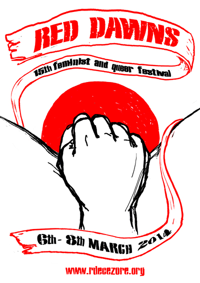 Red Dawns Festival 2014 poster