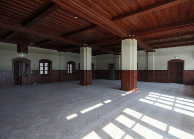 Švicarija Art Centre 2017 Renovated interior of Švicerija