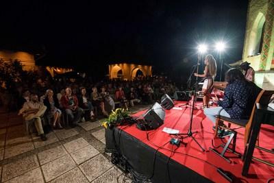 Okarina Festival Bled 2017 La Negra at Bled Castle