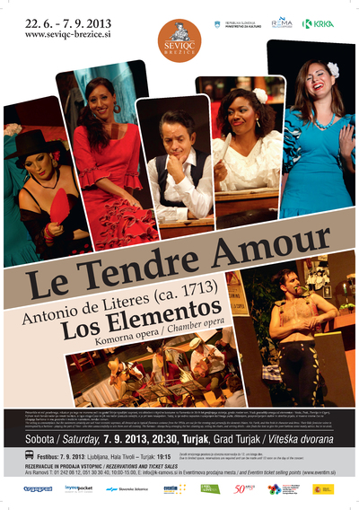 Seviqc Brežice Festival 2013 Le Tendre Amour poster