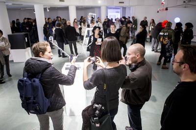 Pixxelpoint International Festival of Contemporary Art Practices 2017 opening Photo Matej Vidmar
