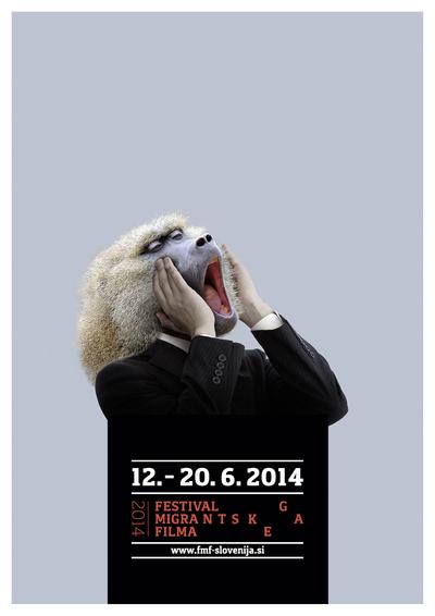 Martina Kokovnik Hakl and Drago Mlakar 2014 Migrant Film Festival poster 03