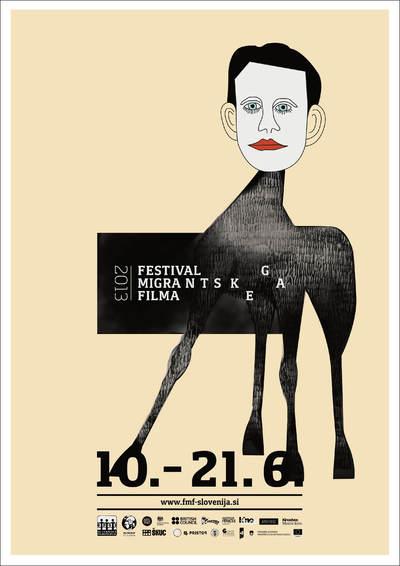 Martina Kokovnik Hakl and Drago Mlakar 2013 Migrant Film Festival poster 02