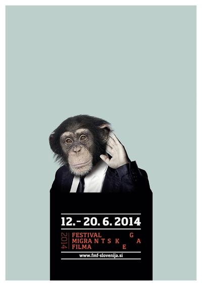 Martina Kokovnik Hakl and Drago Mlakar 2014 Migrant Film Festival poster 01