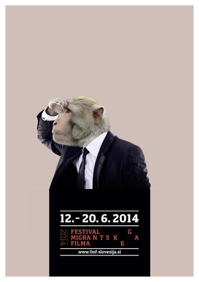 Martina Kokovnik Hakl and Drago Mlakar 2014 Migrant Film Festival poster 02
