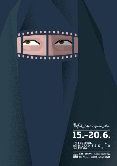 Martina Kokovnik Hakl and Drago Mlakar 2016 Migrant Film Festival poster