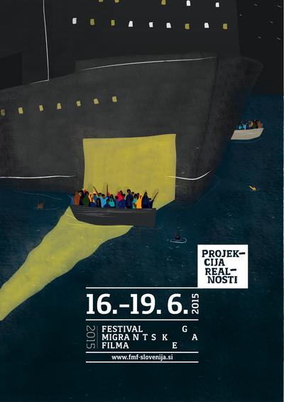 Martina Kokovnik Hakl and Drago Mlakar 2015 Migrant Film Festival poster 01