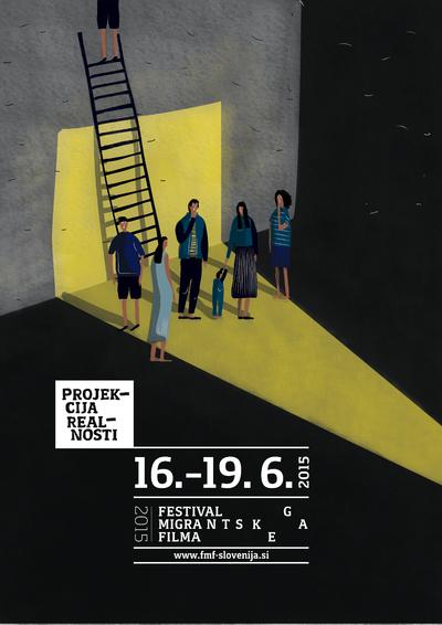 Martina Kokovnik Hakl and Drago Mlakar 2015 Migrant Film Festival poster 02